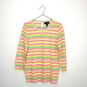 Jcrew Multi color  Cashmere Tippi Sweater